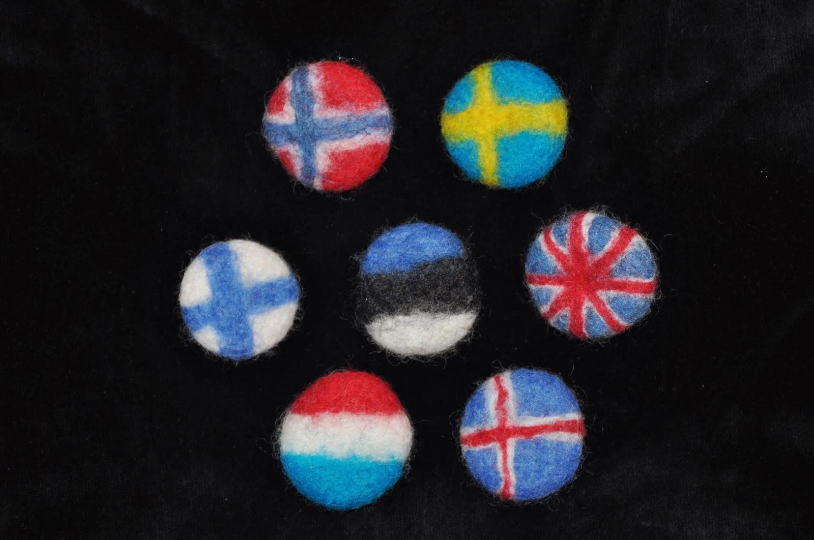 Huovutetut kanssalisliput, viron käsityöliikkeet, viron käsityö, käsityökauppa, ostoksilla Tallinnassa, käsityökauppa netissä