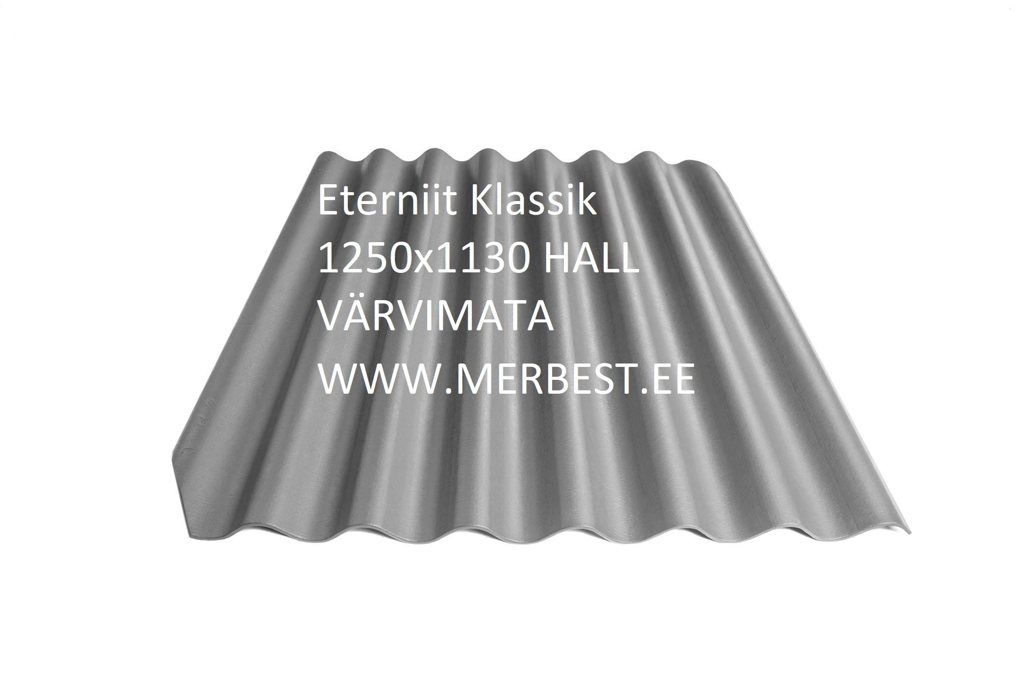 Eternit_Klasika 1250x1130_BL00, värvimata hall, eterniit, eterniidi müük, katuseplaat, laineplaat, eterniidi vahetus, katusetööd, merbest oü