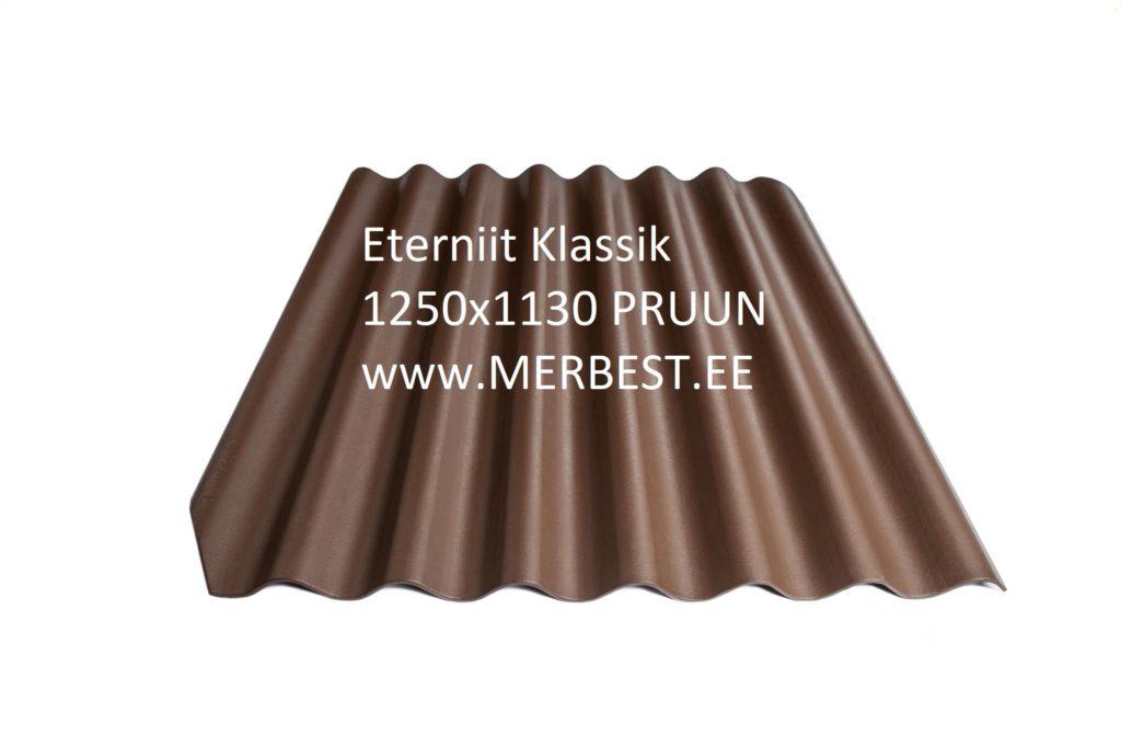 Eternit_Klasika_BL00_large pruun 1250x1130 eterniit, eterniidi müük, katuseplaat, laineplaat, eterniidi vahetus, katusetööd, merbest oü