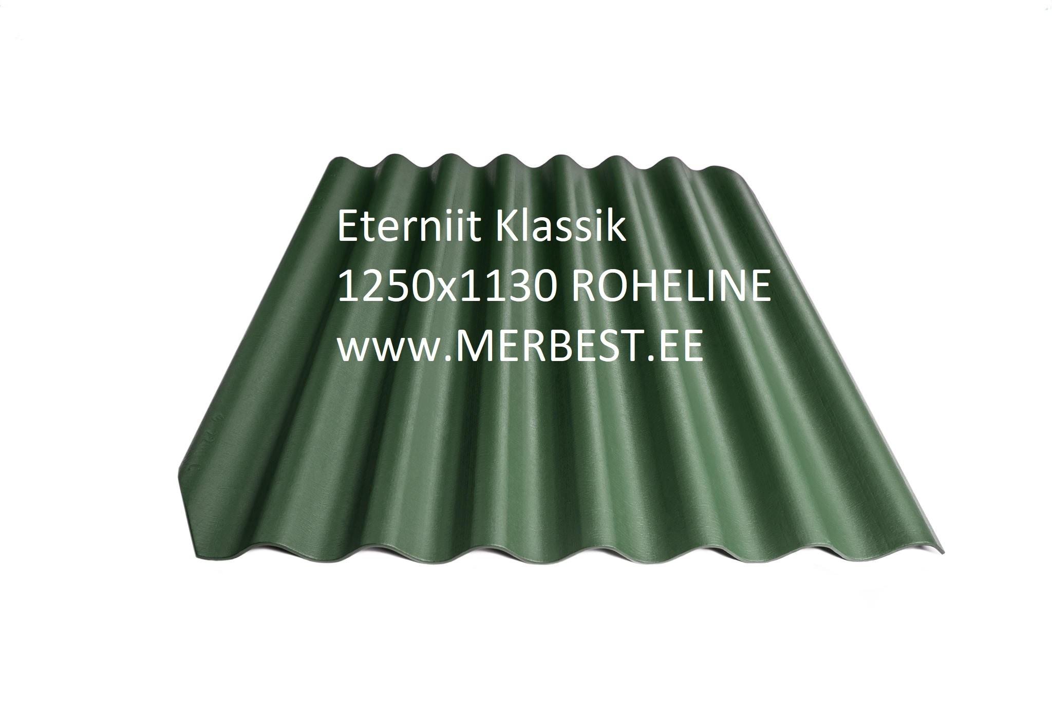 Eternit_Klasika_BL31_large roheline 1250x1130 eterniit, eterniidi müük, katuseplaat, laineplaat, eterniidi vahetus, katusetööd, merbest oü