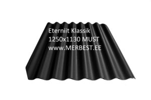 Eternit_Klasika_BL91_large must 1250x1130 eterniit, eterniidi müük, katuseplaat, laineplaat, eterniidi vahetus, katusetööd, merbest oü