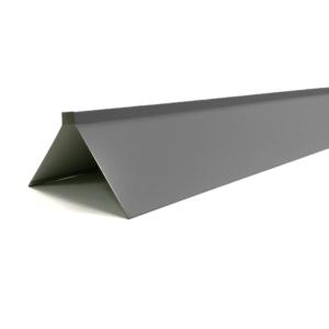 Harjaplekk 150x150x2000 eterniitkatusele. Katusetarvikud-Harjaplekk-Grafiit-ET-HP-RR23