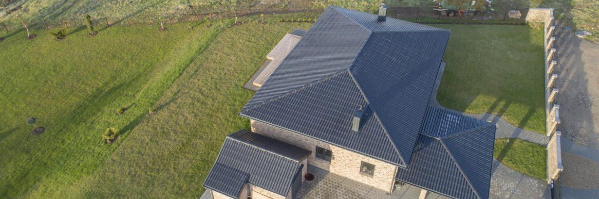 Eternit Gotika eterniit, roheline, eterniitkatus katuseplaadid