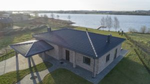 Eternit Gotika eterniit, roheline, eterniitkatus katuseplaat