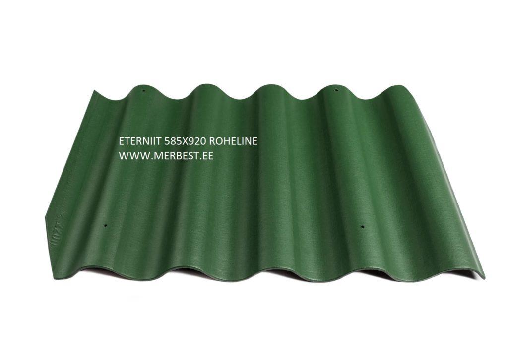 ETERNIIT GOTIKA ROHELINE - Eternit_Gotika_BL31_large roheline Merbest OÜ, eterniit, eterniidi müük, eterniidi vahetus, katuse ehitus, katuseplaadid, eterniidi hind