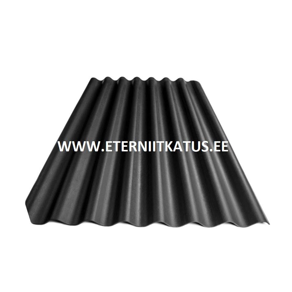 Eterniit Agro XL 2500x1130 must katuse vahetus, eterniit, eterniitkatus, eterniidi muuk