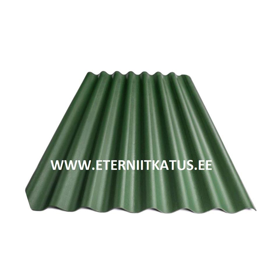 Eterniit Agro XL 2500x1130 roheline, eterniidi vahetus
