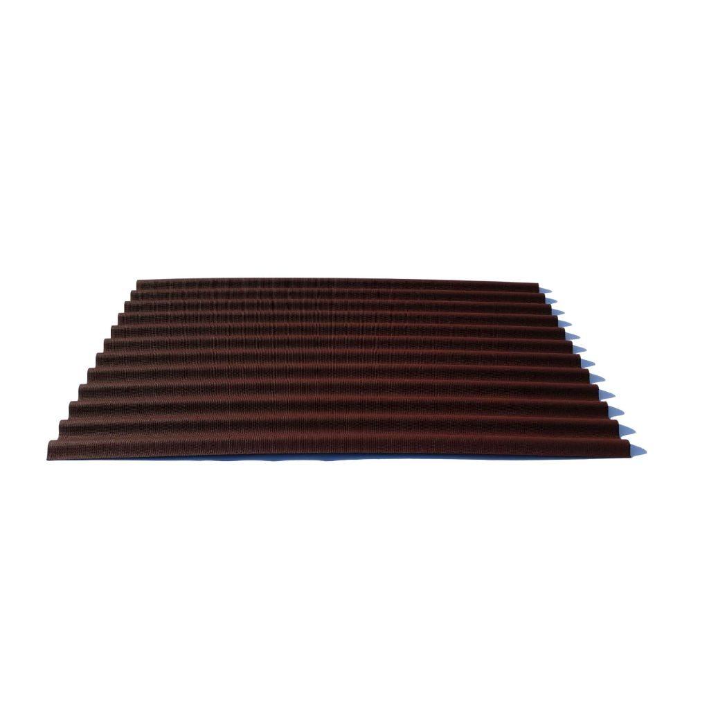 Onduline bituumenlaineplaat 950 x 2000 mm punane, merbest
