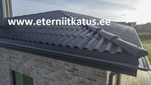 Eterniit Gootika katus, katusetööd eramaja katus